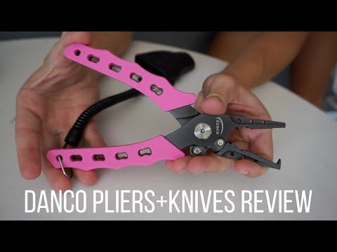 Fishing Pliers+Knives Review and Unboxing!! | Danco Sports