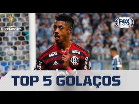 TOP 5 RIVER X FLAMENGO! VEJA OS MELHORES GOLS DOS FINALISTAS DA LIBERTADORES 2019!