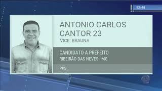 TRE Condena Cantor Antonio Carlos