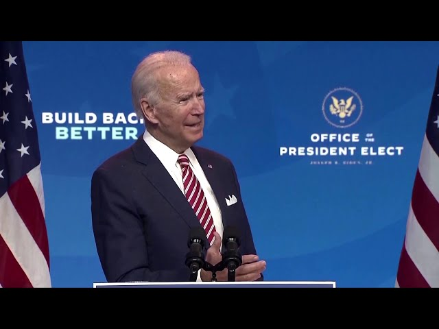 Biden: 'More people may die' as Trump transition stalls