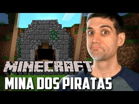 Minecraft 1.14 #07 - Construindo a MINA DOS PIRATAS no Buraco Quente