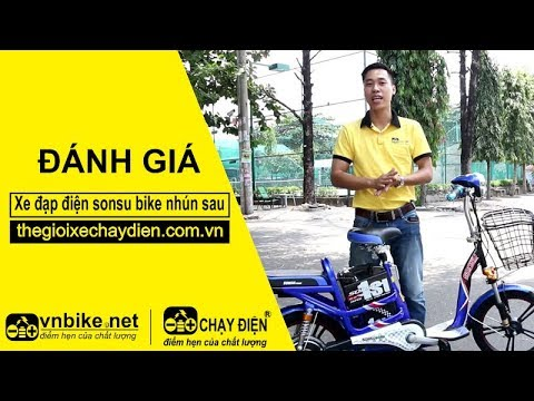 Đánh giá xe đạp điện sonsu bike nhún sau