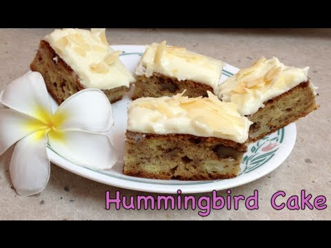 Hummingbird Cake Video Recipe cheekyricho