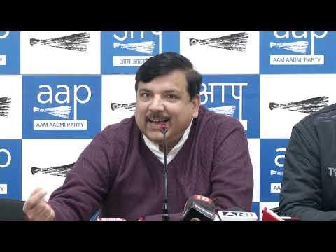 Senior AAP Leader & RS Member Briefed on CBI Director Verdict by SC
