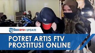 VIDEO Penangkapan Artis FTV di Sebuah Hotel di Medan terkait Dugaan Prostitusi Online, Tutupi Wajah