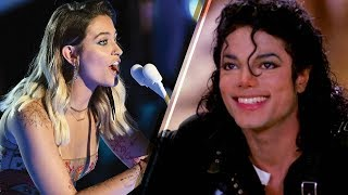 Paris Jackson Can SING Like Her Dad Michael!