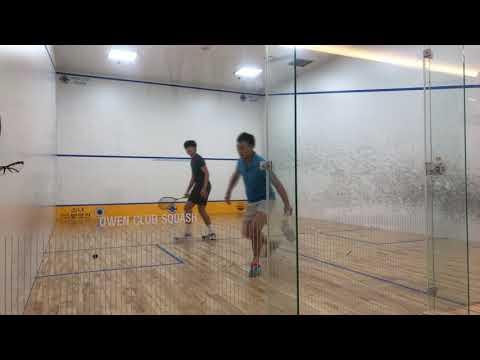 오웬클럽스쿼시 owen club squash 1st김형석(루비스채피) vs 남효석(오웬클럽챔피온)
