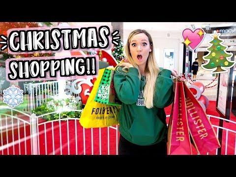 Christmas Shopping! Vlogmas Day 13!!