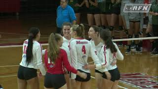 Volleyball Sweeps Siena