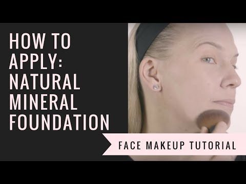 How to Apply Mineral Foundation