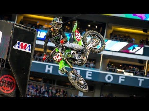 Adam Cianciarulo - 2019 Supercross Highlights