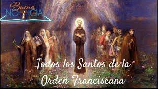 Todos Los Santos de la Orden Franciscana