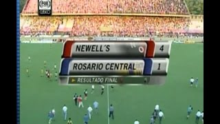 PARTIDAZOS - Newells 4 Central 1 - 1999