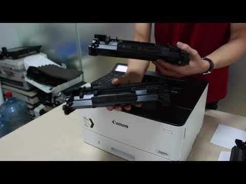 Thay hộp mực tiết kiệm chi phí cho Canon LBP226dw/ LBP223dw không cần CHIP
