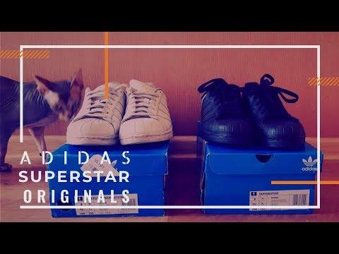 Распаковка посылки. Adidas Originals. Superstar. Кроссовки со своим брендом