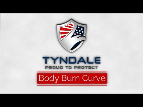 NFPA 2112 Body Burn Curve