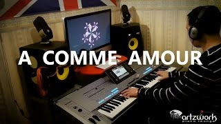 A Comme Amour by Richard Clayderman on Yamaha Tyros 5