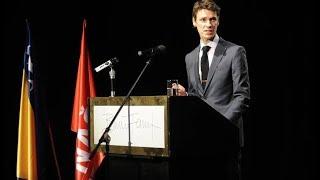 Boriša Falatar - govor na tribini Naše stranke u Tuzli