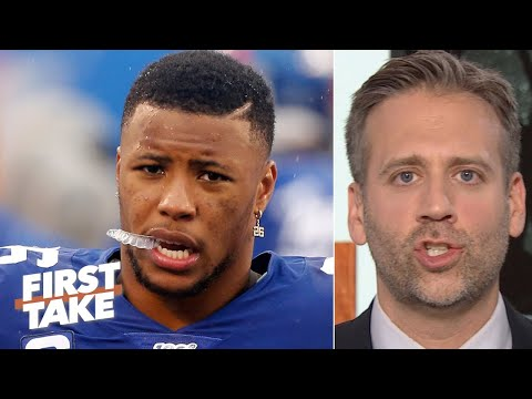 Saquon Barkley is in danger if Giants continue to play him - Max Kellerman | First Take