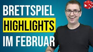Die BESTEN Brettspiele im Februar - Meine persönlichen Highlights & Überraschungen