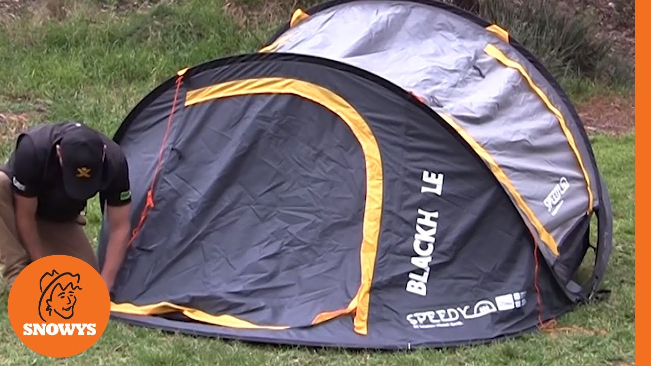 Speedy Blackhole 2 Pop Up Tent