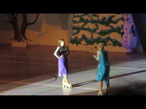 Die Eiskönigin auf Rollschuhen 2017: Anna & Elsa