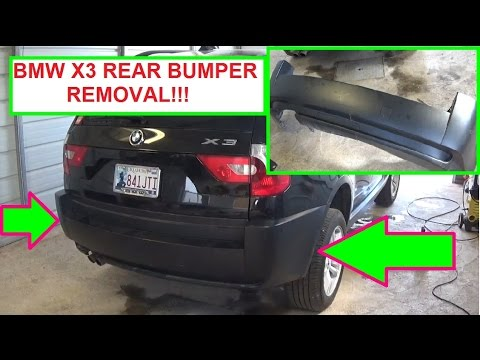 BMW X3 E83 Rear Bumper Removal And Replacement In 5 MINUTES!!! Mp3