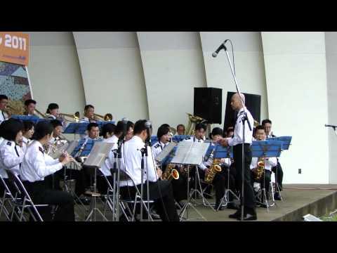 [20110507]海自xよこすかカレーフェスx1:後甲板にて~横須賀音楽隊~