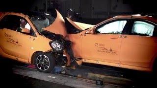 Краш тест современных авто | Crash test cars