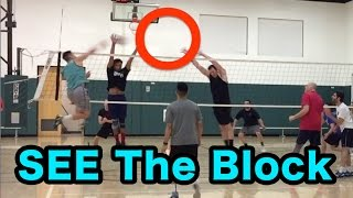 How to SEE the BLOCK - Volleyball Tutorial