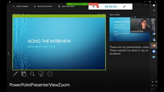 How to See Presentation Notes while presenting PowerPoint slides on Zoom
