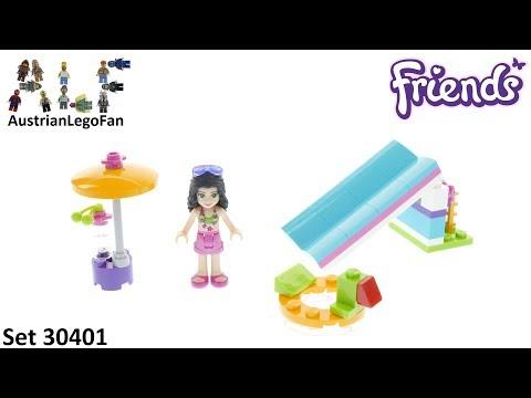 Vidéo LEGO Friends 30401 : Le toboggan (Polybag)