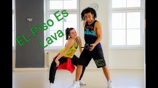 EL PISO ES LAVA Zin 74 Zumba® Choreo With Saiko & Lara