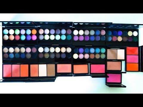Blush By 3 Palette by sleek #5