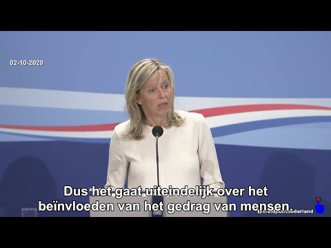 Minister Ollongren geeft toe dat mondkapjes gaan om Gedragsbeïnvloeding! 02-10-2020