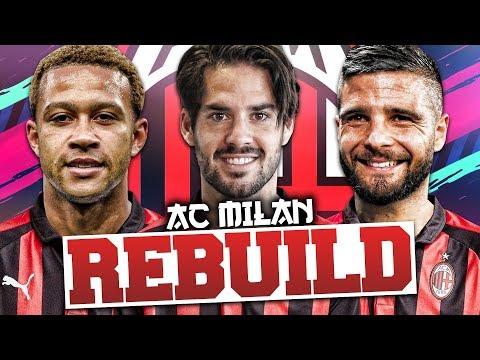 REBUILDING AC MILAN!!! FIFA 19 Career Mode