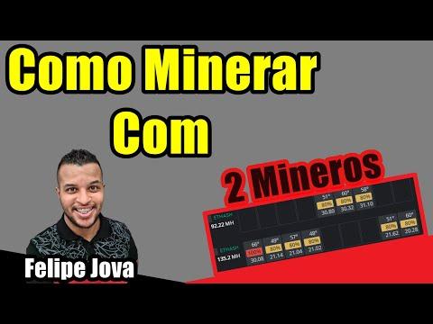 Minerando em Dois Mineros