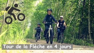 preview picture of video 'Tour de la Flèche en 4 jours  (72 - Sarthe)'