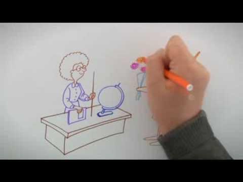 День учителя (открытка). Поздравление с Днем учителя от телеканала