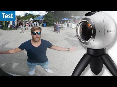 Samsung Gear 360 - Bildqualitäts-Test | 360 GRAD | deutsch / german