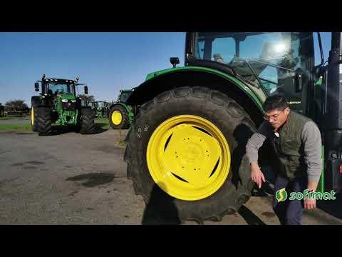 Vidéo tracteur occasion John Deere N°135958