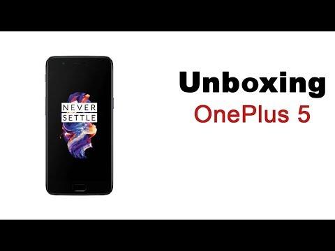 OnePlus 5 Unboxing