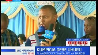 Wawakilishi wadi Nairobi watangaza kuendeleza kampeni za kumuunga mkono Uhuru Kenyatta