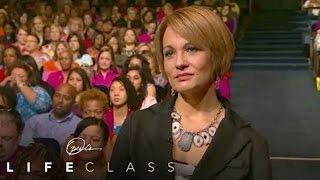 Pastor Joel Osteen Helps a Woman Feel Worthy | Oprah's Life Class | Oprah Winfrey Network