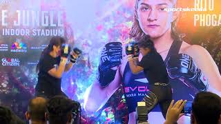 India Witnesses MMA Skills For The First Time With Open Workout By Ritu Phogat