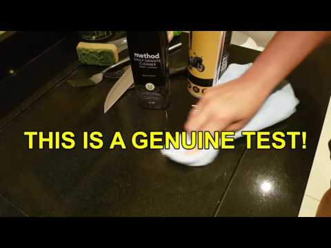 Cleaning Water Marks/Stains On Granite Work Top - Elite Wax