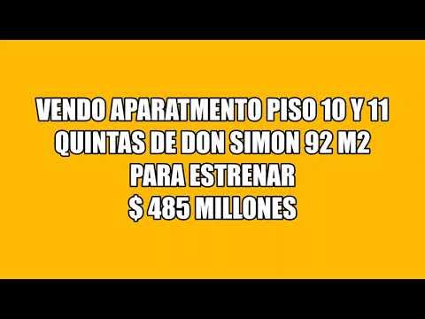 Apartamentos, Venta, Las Quintas de Don Simón - $485.000.000