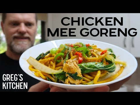 How to Make Chicken Mee Goreng – Greg's Kitchen Asian Recipes