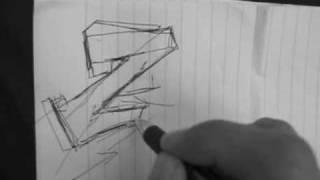 Reskews Graffiti Tutorial #6 Letter Structuring Technique Essentials