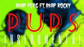 A$AP Ferg FT. A$AP Rocky   Pups [INSTRUMENTAL] | ReProd. By IZM
